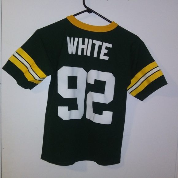 purchase cheap f6b73 58b06 Green Bay Packers Reggie White jersey, youth 10/12